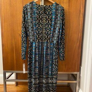Black Teal Classic Dress (Brand New / Tags)